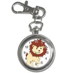 Happy Cartoon Baby Lion Key Chain Watches by Catifornia