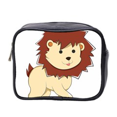 Happy Cartoon Baby Lion Mini Toiletries Bag 2 Side by Catifornia