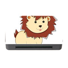 Happy Cartoon Baby Lion Memory Card Reader With Cf by Catifornia
