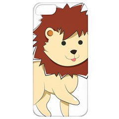 Happy Cartoon Baby Lion Apple Iphone 5 Classic Hardshell Case by Catifornia