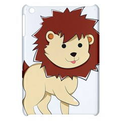 Happy Cartoon Baby Lion Apple Ipad Mini Hardshell Case by Catifornia