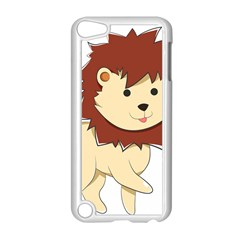 Happy Cartoon Baby Lion Apple Ipod Touch 5 Case (white) by Catifornia