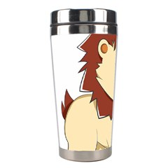 Happy Cartoon Baby Lion Stainless Steel Travel Tumblers by Catifornia