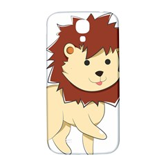 Happy Cartoon Baby Lion Samsung Galaxy S4 I9500/i9505  Hardshell Back Case by Catifornia
