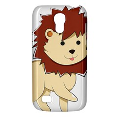 Happy Cartoon Baby Lion Galaxy S4 Mini by Catifornia