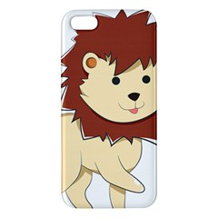 Happy Cartoon Baby Lion Iphone 5s/ Se Premium Hardshell Case by Catifornia