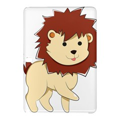 Happy Cartoon Baby Lion Samsung Galaxy Tab Pro 12 2 Hardshell Case by Catifornia