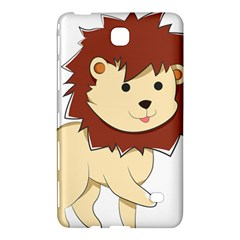 Happy Cartoon Baby Lion Samsung Galaxy Tab 4 (7 ) Hardshell Case  by Catifornia