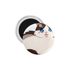Ragdoll Cat For Life 1 75  Magnets by Catifornia
