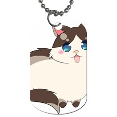 Ragdoll Cat For Life Dog Tag (one Side)