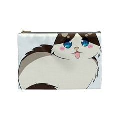Ragdoll Cat For Life Cosmetic Bag (medium)  by Catifornia