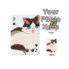 Ragdoll Cat For Life Playing Cards 54 (mini)  by Catifornia