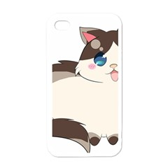 Ragdoll Cat For Life Apple Iphone 4 Case (white) by Catifornia