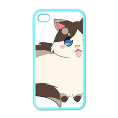 Ragdoll Cat For Life Apple Iphone 4 Case (color) by Catifornia
