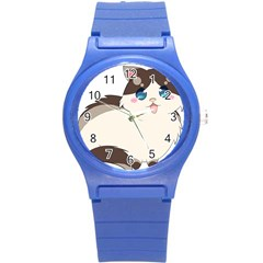 Ragdoll Cat For Life Round Plastic Sport Watch (s) by Catifornia