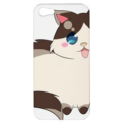 Ragdoll Cat For Life Apple Iphone 5 Hardshell Case by Catifornia