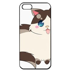 Ragdoll Cat For Life Apple Iphone 5 Seamless Case (black) by Catifornia