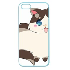 Ragdoll Cat For Life Apple Seamless Iphone 5 Case (color) by Catifornia