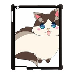 Ragdoll Cat For Life Apple Ipad 3/4 Case (black) by Catifornia
