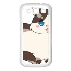Ragdoll Cat For Life Samsung Galaxy S3 Back Case (white) by Catifornia