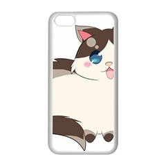 Ragdoll Cat For Life Apple Iphone 5c Seamless Case (white) by Catifornia