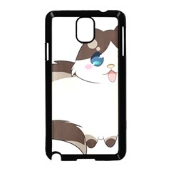 Ragdoll Cat For Life Samsung Galaxy Note 3 Neo Hardshell Case (black) by Catifornia