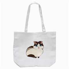 Ragdoll Cat For Life Tote Bag (white)