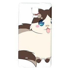 Ragdoll Cat For Life Galaxy Note 4 Back Case by Catifornia