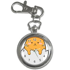Yellow Cat Egg Key Chain Watches by Catifornia