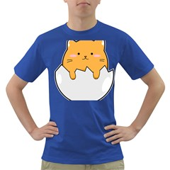 Yellow Cat Egg Dark T Shirt