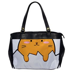 Yellow Cat Egg Office Handbags by Catifornia