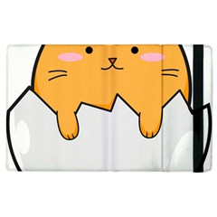 Yellow Cat Egg Apple Ipad 3/4 Flip Case by Catifornia