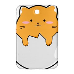 Yellow Cat Egg Samsung Galaxy Note 8 0 N5100 Hardshell Case  by Catifornia