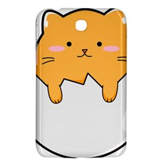 Yellow Cat Egg Samsung Galaxy Tab 3 (7 ) P3200 Hardshell Case