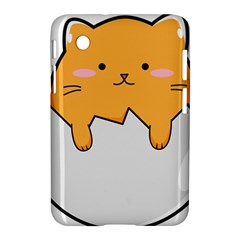 Yellow Cat Egg Samsung Galaxy Tab 2 (7 ) P3100 Hardshell Case  by Catifornia
