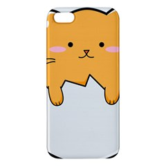 Yellow Cat Egg Iphone 5s/ Se Premium Hardshell Case by Catifornia