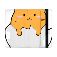 Yellow Cat Egg Samsung Galaxy Tab Pro 8 4  Flip Case by Catifornia