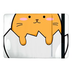 Yellow Cat Egg Samsung Galaxy Tab Pro 10 1  Flip Case
