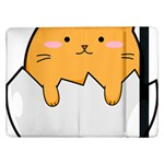Yellow Cat Egg Samsung Galaxy Tab Pro 12.2  Flip Case Front
