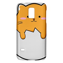 Yellow Cat Egg Galaxy S5 Mini by Catifornia