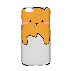 Yellow Cat Egg Apple Iphone 6/6s Hardshell Case by Catifornia