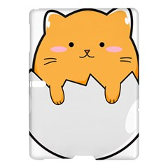 Yellow Cat Egg Samsung Galaxy Tab S (10 5 ) Hardshell Case  by Catifornia