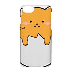 Yellow Cat Egg Apple Iphone 7 Hardshell Case by Catifornia