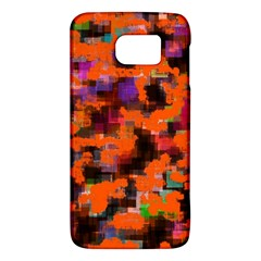 Orange Texture            Htc One M9 Hardshell Case by LalyLauraFLM