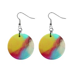Textured Paint                   1  Button Earrings by LalyLauraFLM