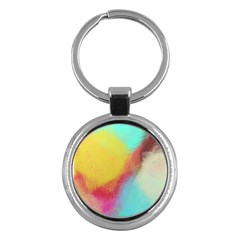 Textured Paint                   Key Chain (round) by LalyLauraFLM