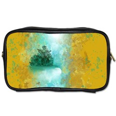 Turquoise River Toiletries Bags 2-side by digitaldivadesigns