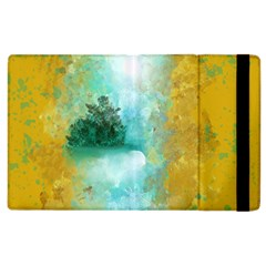 Turquoise River Apple Ipad 2 Flip Case by digitaldivadesigns