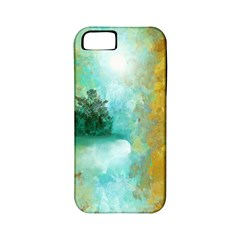 Turquoise River Apple Iphone 5 Classic Hardshell Case (pc+silicone) by digitaldivadesigns