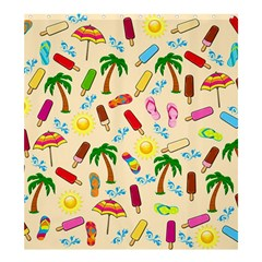 Beach Pattern Shower Curtain 66  X 72  (large)  by Valentinaart